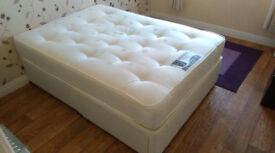 La Romantica 'Sensation' Drawer Divan Base Double Bed with Orthopedic Mattress.