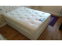 La Romantica 'Sensation' Drawer Divan Base Double Bed with Orthopedic Mattress.