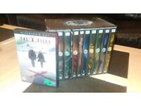 X-FILES DVD Boxset + Film DVD