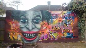 Graffiti artist for murals ,workshops ,cars,vans,catering trailers and more ..get in touch now!
