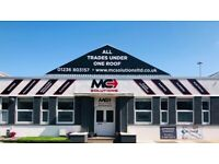 Roughcasting Glasgow   0141 473 4880   External Rendering & Roughcast   Airdrie Showroom