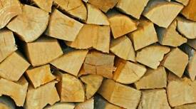 Firewood logs for burning