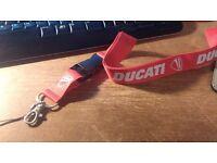 Ducati Lanyard for your keys