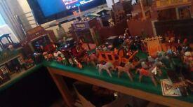 Huge playmobil western bundle