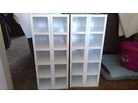 Kitchen Wine Shelf Rack - Betta Living - White. 4 available. Buy 4 for £80 or £25 each BARGAIN