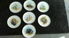 Wedgewood - David Sheppard plates
