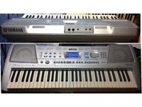 Yamaha PSR 290 Electronic Keyboard with recordable 6 track and MIDI combatability with stand