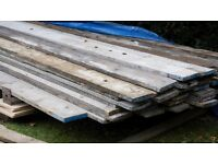 Used Scaffold Boards London/Essex Border £1 Per Foot. Hundreds of boards 7 Days Per Week.