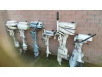 Outboards S or R 10 off 2HP 5 HP Evinrude & Johnson