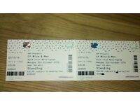 2 Concert tickets - Of Mice & Men