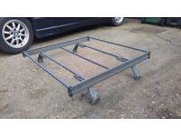 Retro style car roof rack.