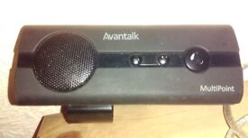 Avantalk Multipoint BTCK 10 bluetooth hands free wireless speakerphone for use with all mobile phone
