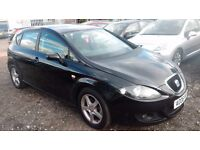 2006 seat leon 2.0 tdi reference sport diesel 5 door black full service history