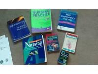 Student Nurse diploma / degree reference nursing study books