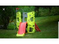 Smoby esclade Climbing frame with slide and pole brand new In box