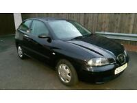 Seat Ibiza 1.2 12v *BLACK* *Low Miles* *All New Tyres* *