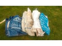 1 ton used builders bags x4