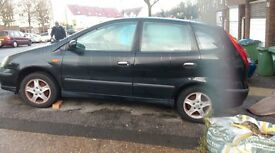 nissan almera car for sale cheap car start drive no mot run out mot cheap car for quick sale