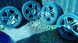 """Subaru 17"""" alloys"""