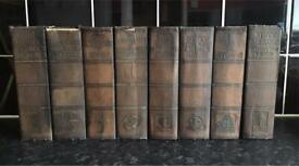 8 Antique ( Circa 1936 ) Books