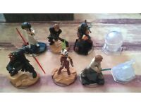 Disney Infinity Star Wars Figures.