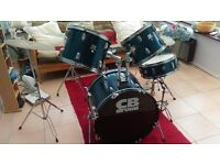 Set of CB drums SP series very good condition £150 only please phone after 5 pm