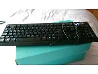 Dell Keyboard and Advent keyboard with mouse