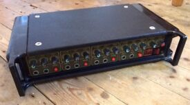 Price drop! HH 4-channel 80W mono PA amp with reverb - good sound, bulletproof build