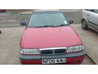 Rover 216 1.6 automatic