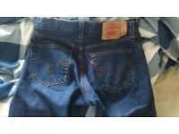 Mens Levi's 501 Jeans - 32w32l - Worn Twice, Perfect Condition - Unwanted Gift - £40