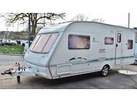 2004/05 SWIFT CHALLENGER 550 4 BERTH, FIXED DUBLE BED (SEPARATE SHOWR) & FULL SIZE AWNING, EXTRAS!