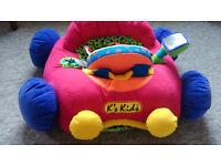 Soft jumbo baby car