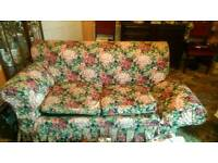 Settee,1 drop arm type