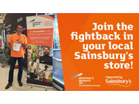 Join Alzheimer's Research UK's supermarket collection crew in Wadsley Bridge, Sheffield