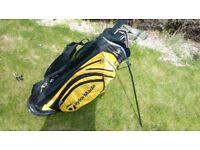 Taylormade golf set bag IRONS putter driver