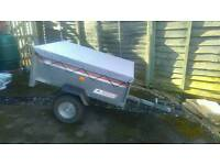 Camping trailer. Diy tip tailgate tipper metal erde trailer mint condition