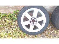 Audi A2 R16 alloy wheels