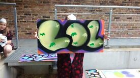 Graffiti Workshops for all ages ,Airbrush lessons ,Birthday party and more...