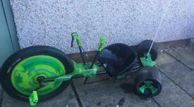 Green machine bike