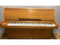 Challen upright piano  Teak     Belfast Pianos  Free Delivery   Dunmurry   Belfast   
