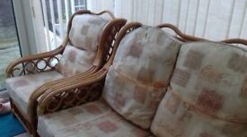 wicker conservatory furniture 3+1