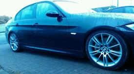 Possible exchange bmw 330d m sport in black auto dpf removed professionally.