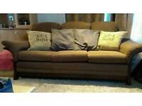 3 & 2 seater fabric sofa