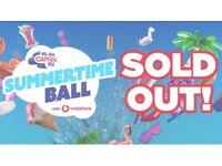 Capital summertime ball tickets x6 golden circle