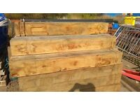 200 x 200 x 1500mm Oak Posts