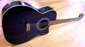 Crafter Electro-Acoustic Guitar JF-7EMS Great Condition