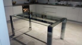 ***NEXT DINING TABLE*** Glass table