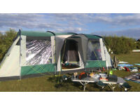 SOLD SunnCamp Triumph 800 8-10 berth tent