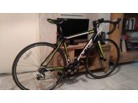 FORME ONE23--LONGCLIFFE 3.0 RACING BIKE--ALUMINIUM FRAME--10 SPEED GEARS--22INCH RIMS--USED