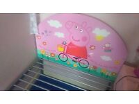 Peppa pig single bed